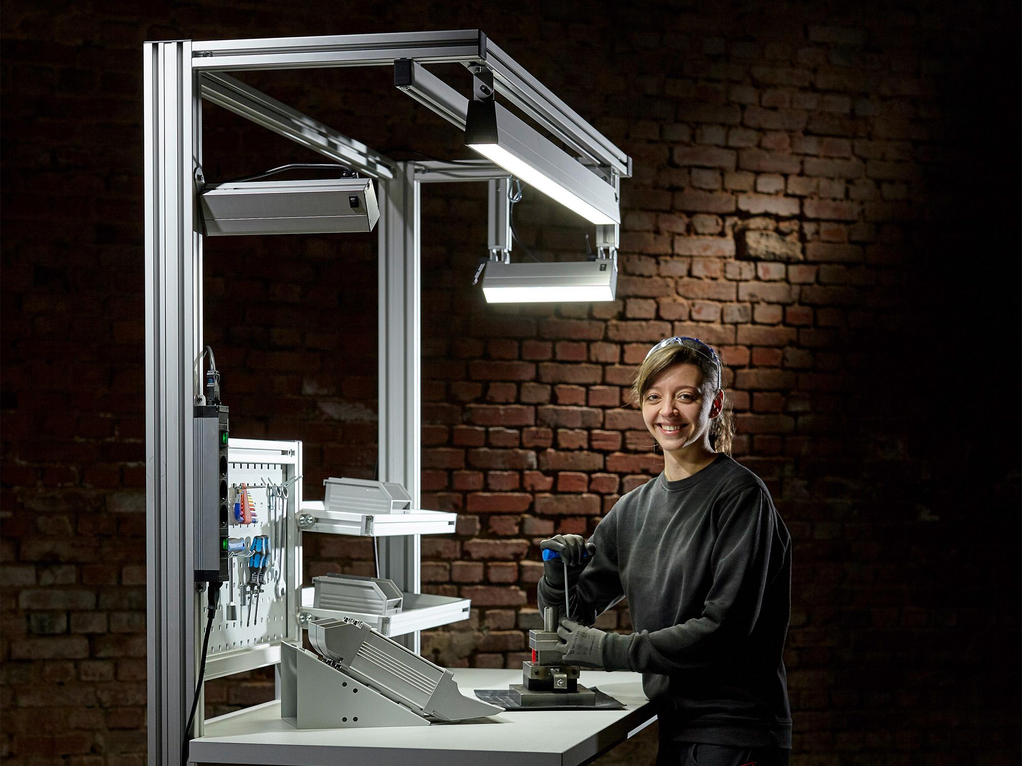 SIS Licht Industriebleuchtung